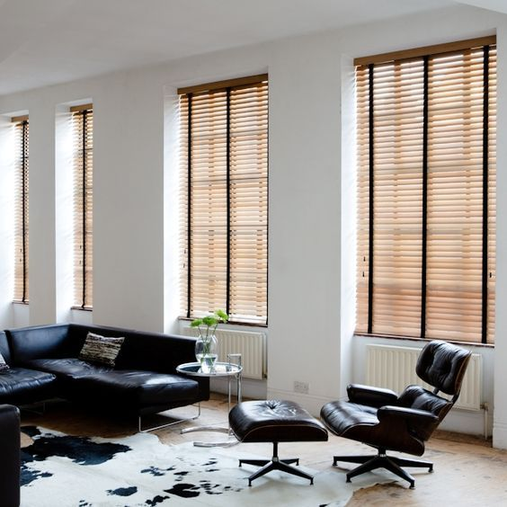 Inspiring Industrial Design Ideas To Consider Living Room Blinds