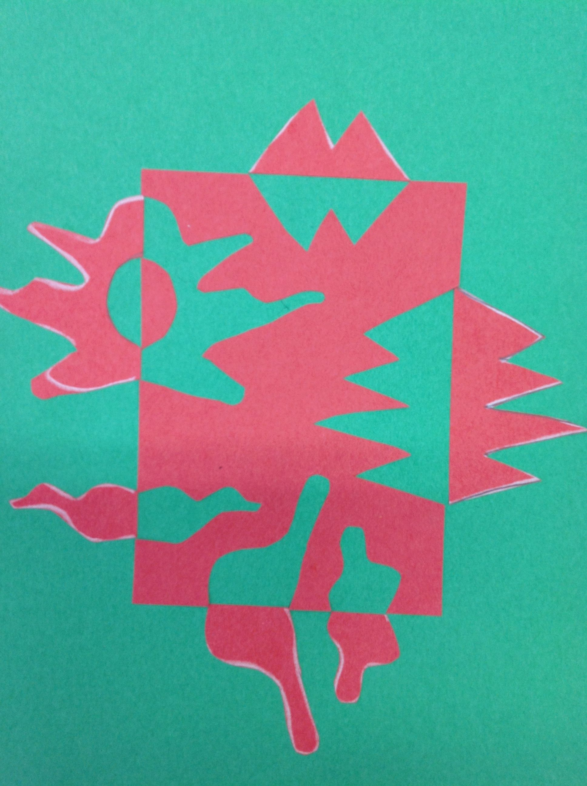 4th Complimentary Colors Positive And Negative Shapes