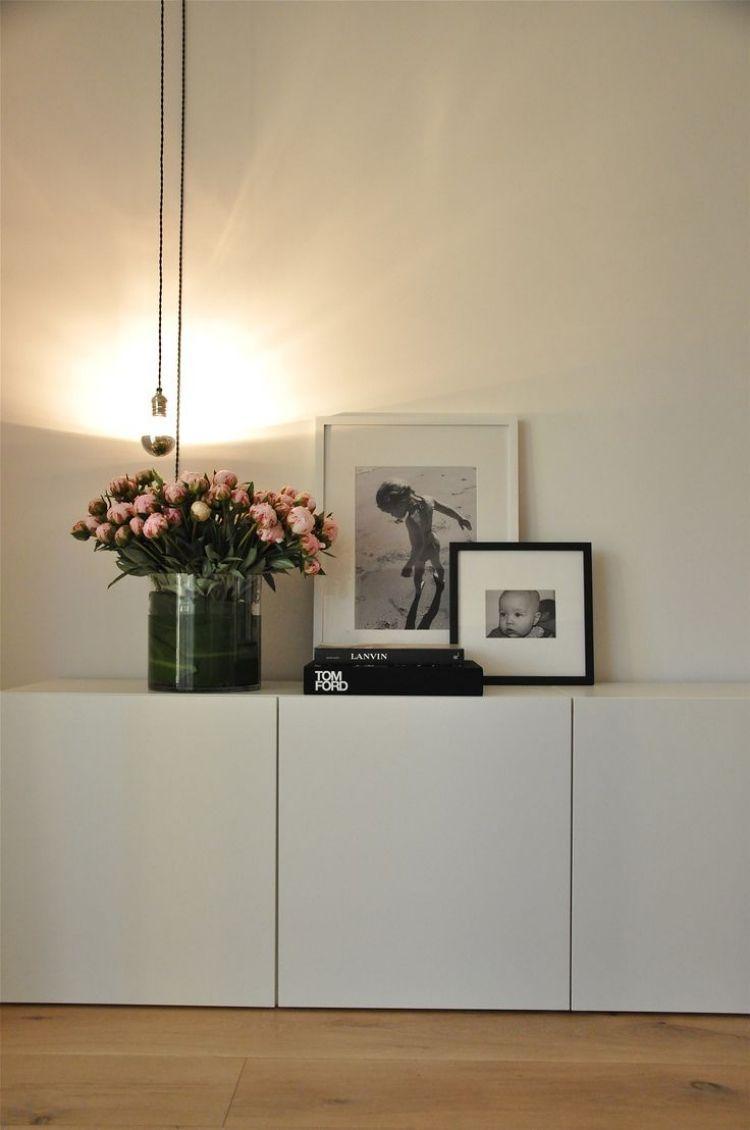 Wonderful Ikea Besta Regal Aufbewahrungssystem Schrank Weiss Holzboden Modern  Nice Design