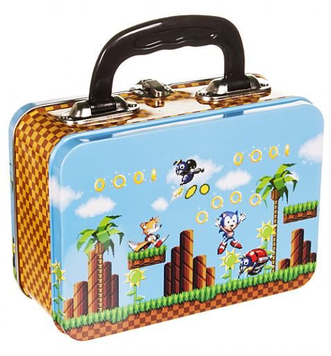 Men S Navy Marl Sonic And Tails T Shirt Sonic The Hedgehog Tin Lunch Boxes Tin