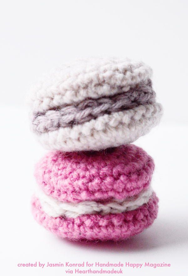 Cute Crochet Macarons | Patrón gratis y Patrones