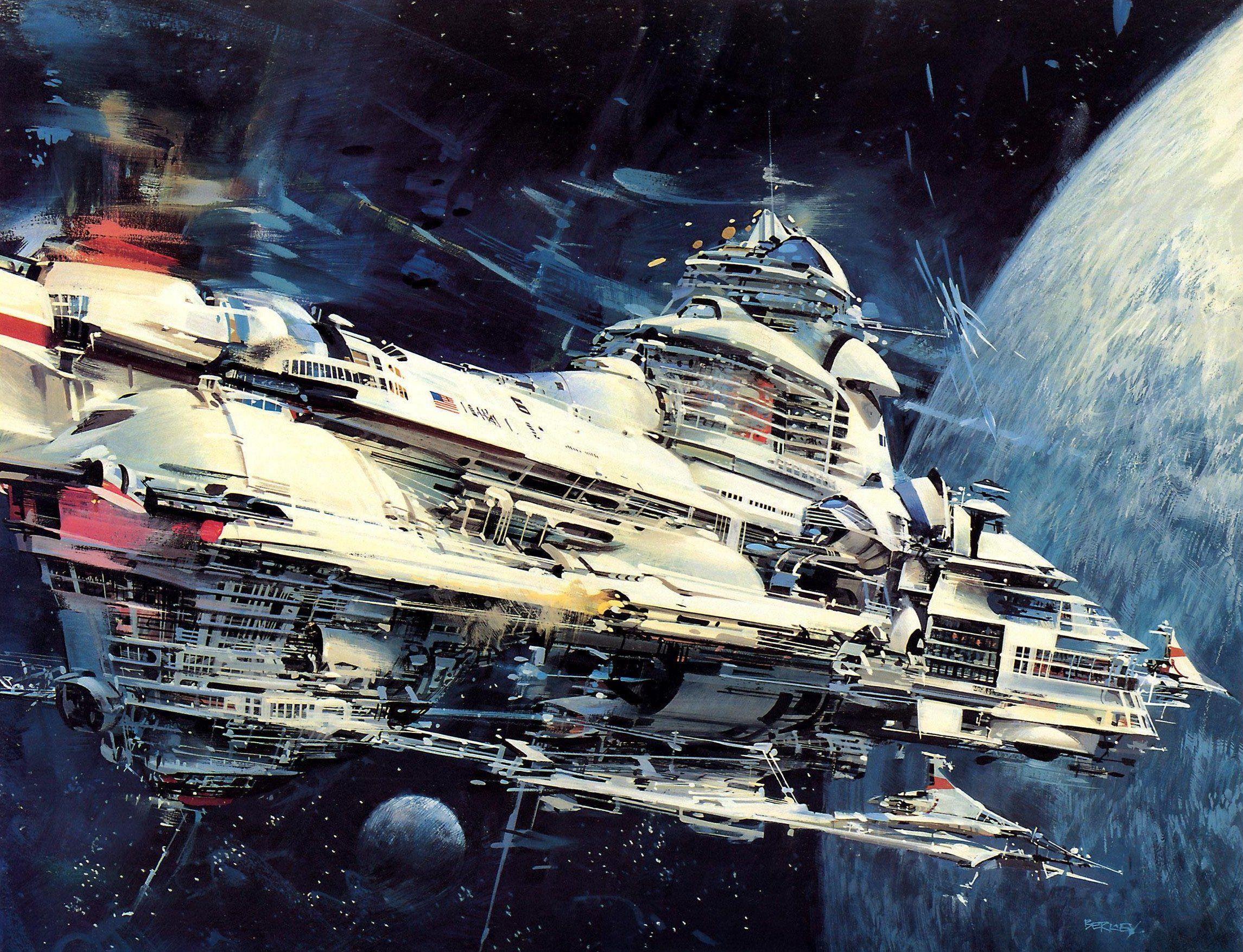 john berkey - colonies in space | Fantasy & Sci-Fi Art ...
