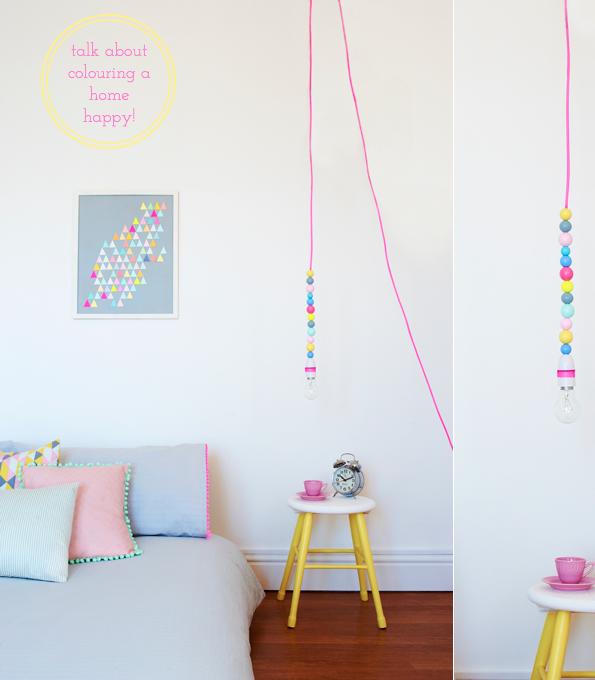 Decoração: Neon e Pastel. ~ Casa Comida e Roupa de Marca.