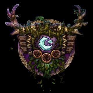 Druid Crest Wow World Of Warcraft World Of Warcraft Druid 2d