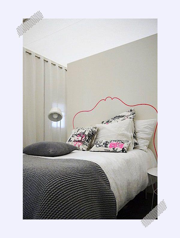 ideas de decoracin infantil cabeceros de cama pintados