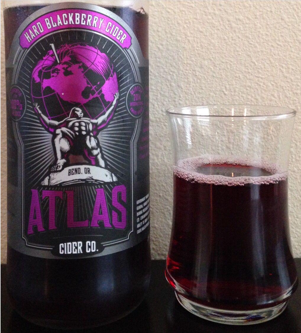 Atlas Hard blackberry cider gf gluten free (my favorite