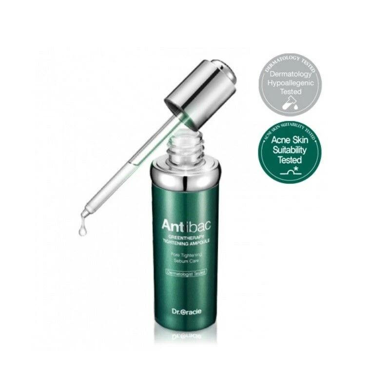 Dr Oracle Antibac Greentherapy Tightening Ampoule 30ml 1oz K Beauty Best Beautip Derma Cosmetics K Beauty Skin Care