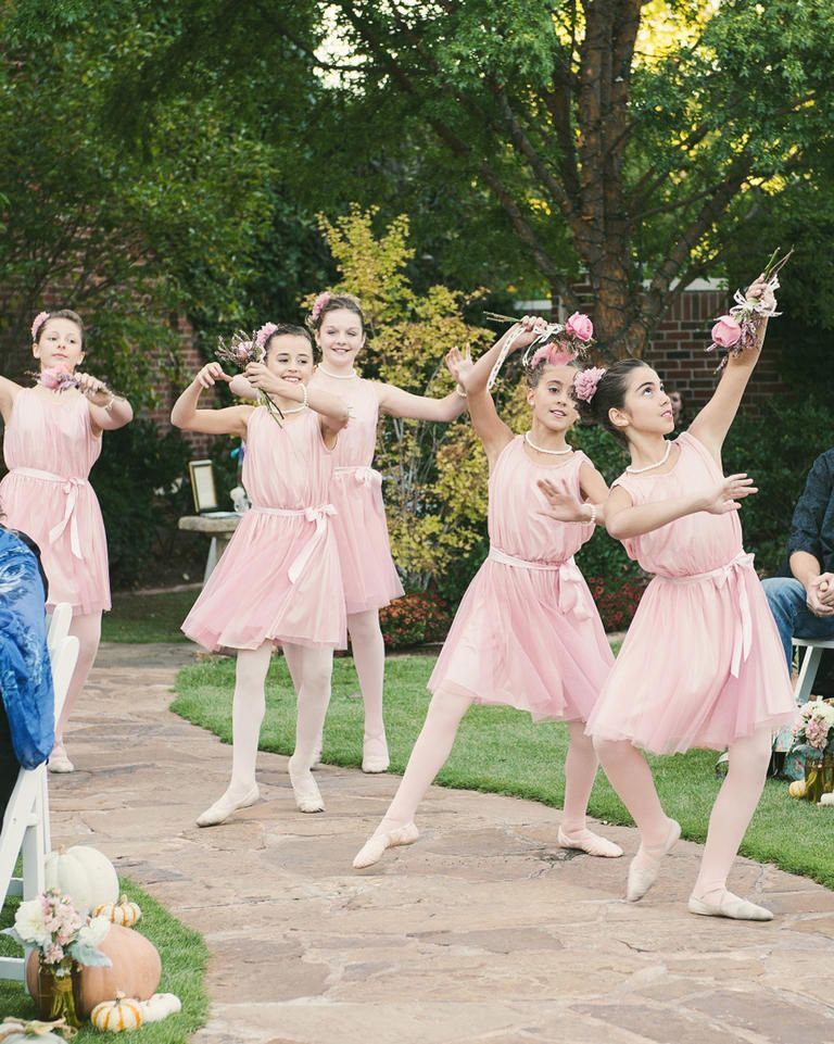 9da21f48249 Do your flower girls double as ballerinas  Have them dance your wedding day  away by having them dance down the aisle.