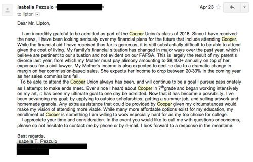 Letter Asking For Finiancial Assistance For College  Google