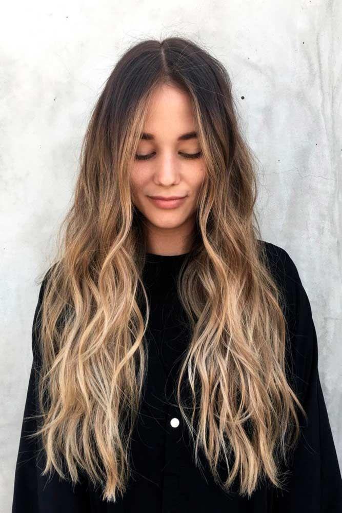 70+ Ideen für hellbraune Haarfarbe mit Highlights #ombrehair
