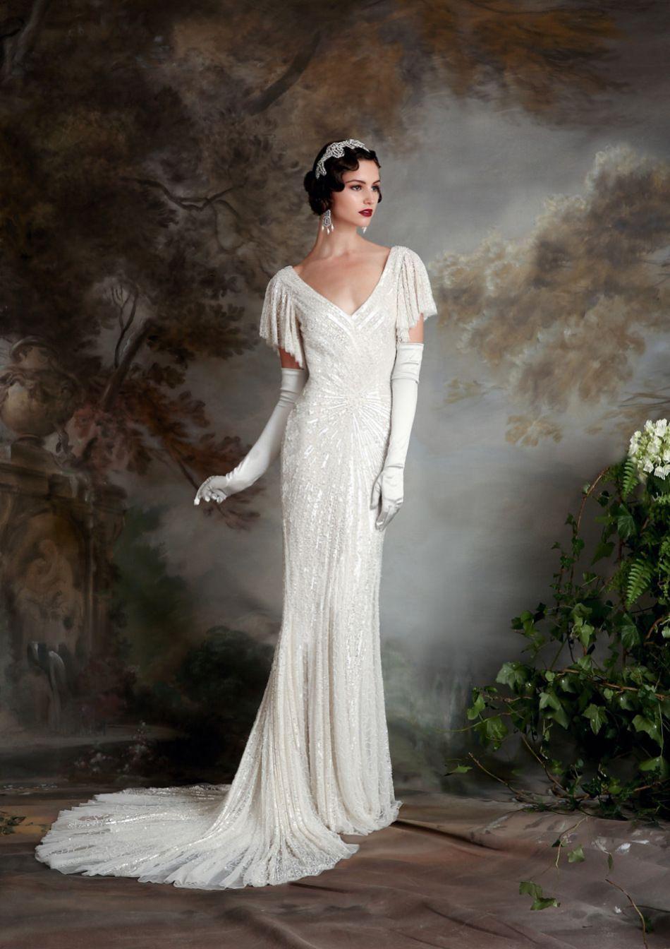 20 Art Deco Wedding Dress with Gatsby Glamour | Pinterest ...