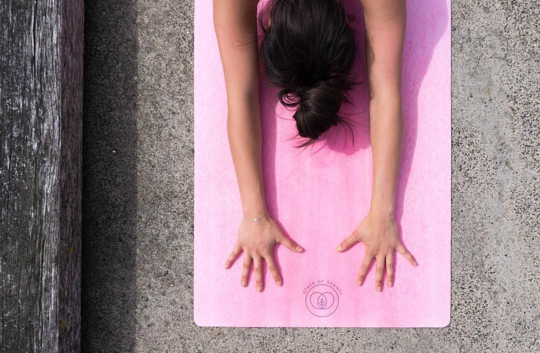 """132 Likes, 22 Comments - State Of Shanti (@stateofshanti) on Instagram: """"You will love the plush microfibre top layer of our yoga mats 😍 Soft to touch, free from toxic inks…"""""""