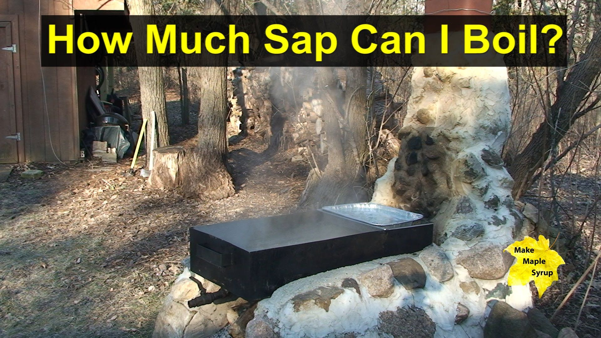 maple pans size matters when boiling sap u0026 making maple syrup