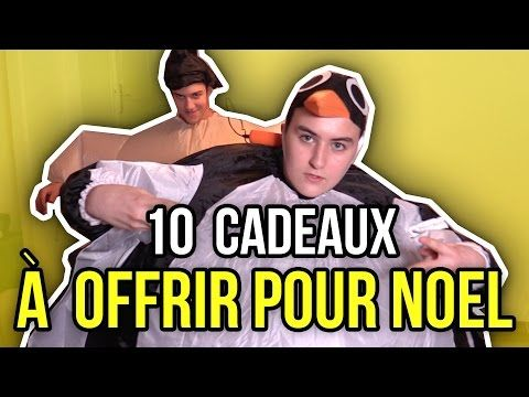 10 CADEAUX & OBJETS WTF INSOLITES À OFFRIR ! - Blanc manger coco (le Vendredi des Vrais!) - YouTube