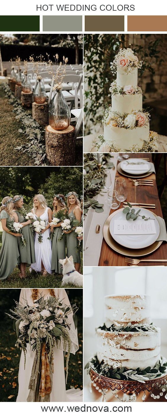 10 Beautiful Sage Green Wedding Ideas for 2019 Trends