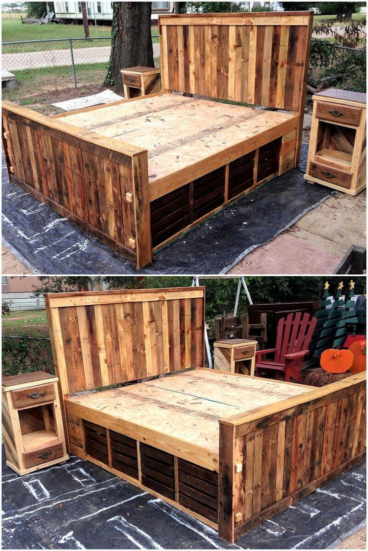 Rustic Beds and Bedroom Furniture Ideas #rusticbedroomfurniture