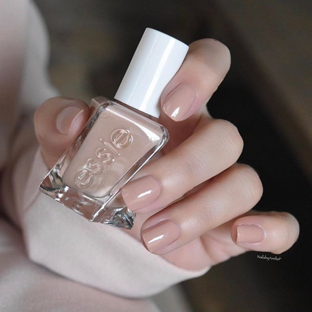 Essie Gel Couture Ballet-Nudes Collection... AT THE BARRE is a soft ...
