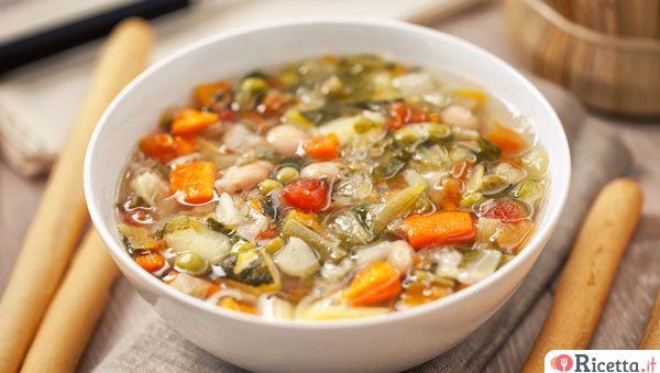 Minestrone Di Verdure Ricetta Con Immagini Ricette