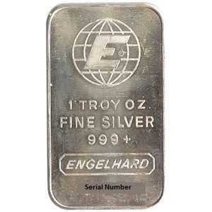 Engelhard Silver Bars 1 Oz Engelhard Silver Bars 1 Oz Check Wire Price 27 32 On Certain Items Payment B Buy Silver Bullion Silver Bars Silver Bullion