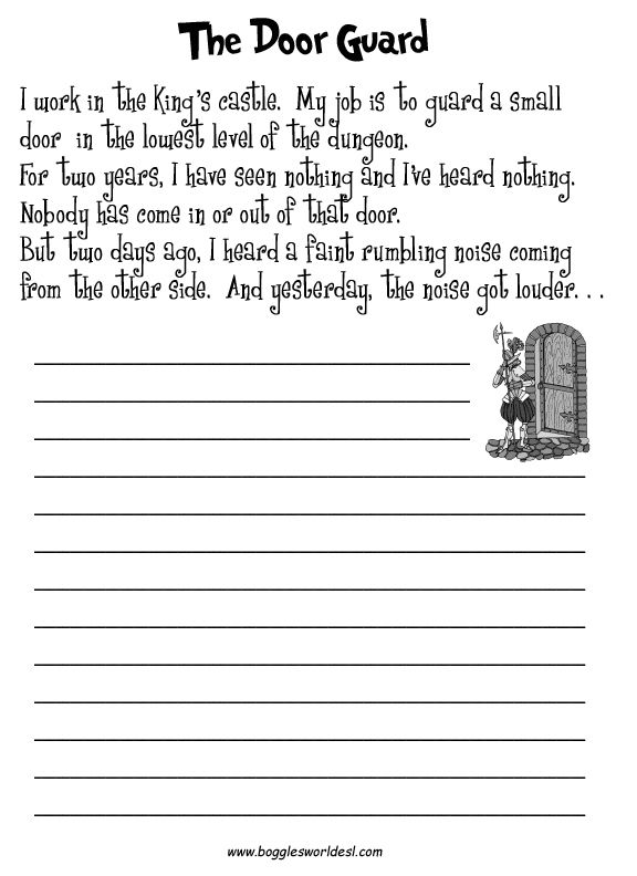 creative writing worksheets for grade 4 Descriptive writing : writing : fourth grade english language arts worksheets here is a collection of our printable worksheets for topic descriptive writing of chapter writing narratives in section writing.