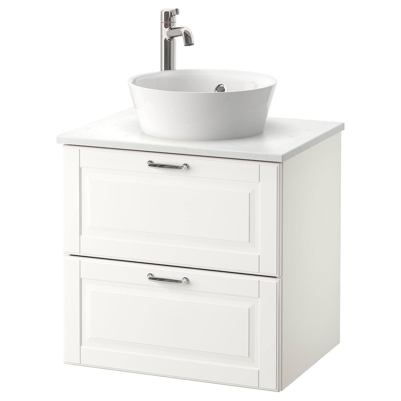Godmorgon Tolken Kattevik Sink Cabinet With Top 15 Sink