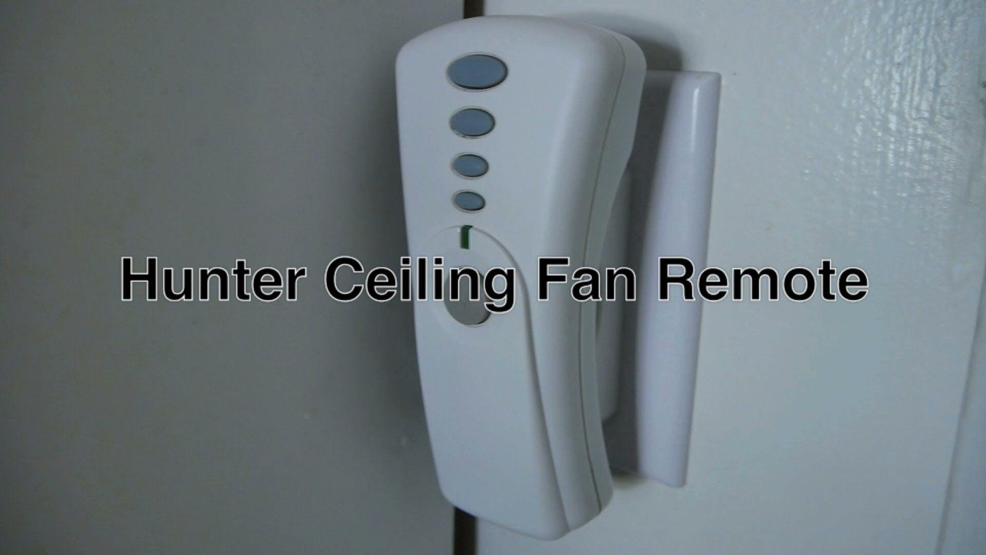 Deckenventilator Badezimmer ~ Hunter fan remote control reset http: onlinecompliance.info