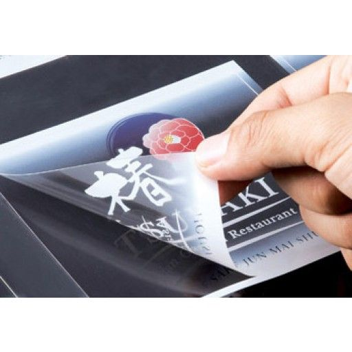 Custom Print On Clear Transparent Vinyl Stickers These Print - Custom vinyl stickers transparent