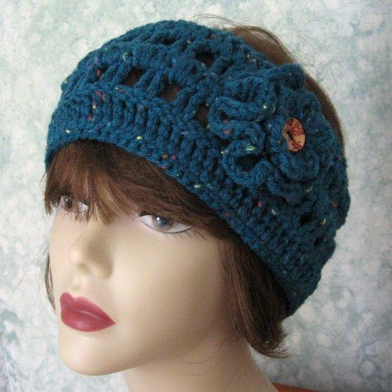 Womens Crochet Headband Pattern With Double By Kalliedesigns 395