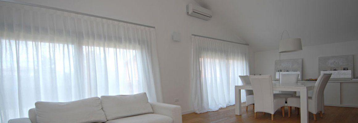 Tappezzeria idea casa tenda leggera per sala da pranzo o soggiorno elegante e moderna