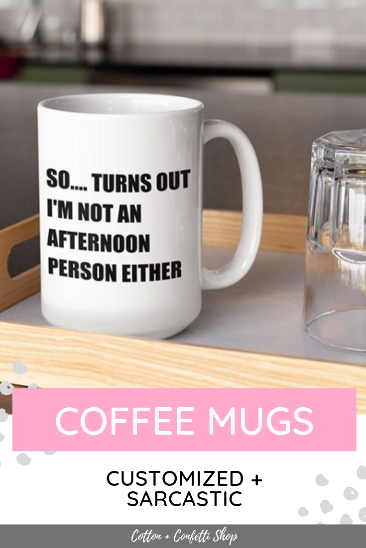 Custom Mug Design - Design Your Own Mug - Large Funny Mug - Personalized Mug Design - Create Your Own Mug Design #teamugs