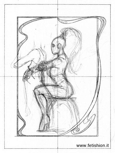 Sketch from Fetish Portfolio 4