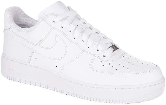 Men's Nike Air Force 1 '07 Sneaker, Size 8 M - White | Chaussure