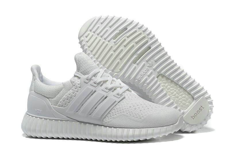 Adidas Yeezy Ultra Boosts YEEZY Soles All White UK Trainers 2017/Running  Shoes 2017