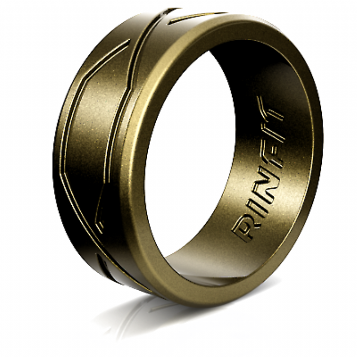 Men S Silicone Wedding Ring Rubber Band Unique Patented Design By In 2020 Silicone Rings Wedding Bands Silicone Wedding Ring Men Silicone Wedding Rings