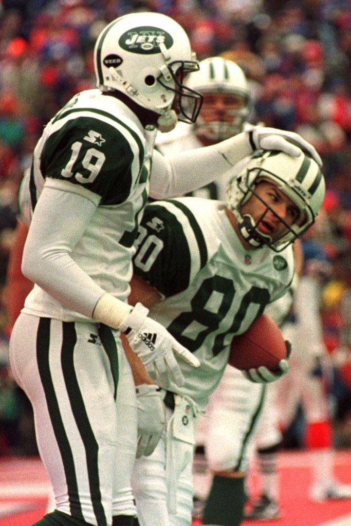 release date a9ac5 b4291 Wayne Chrebet and Keyshawn Johnson   New York Jets   New ...