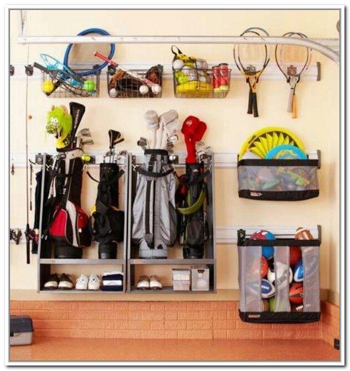 Garage Sports Organizer: Golf Bag Storage Garage In 2019