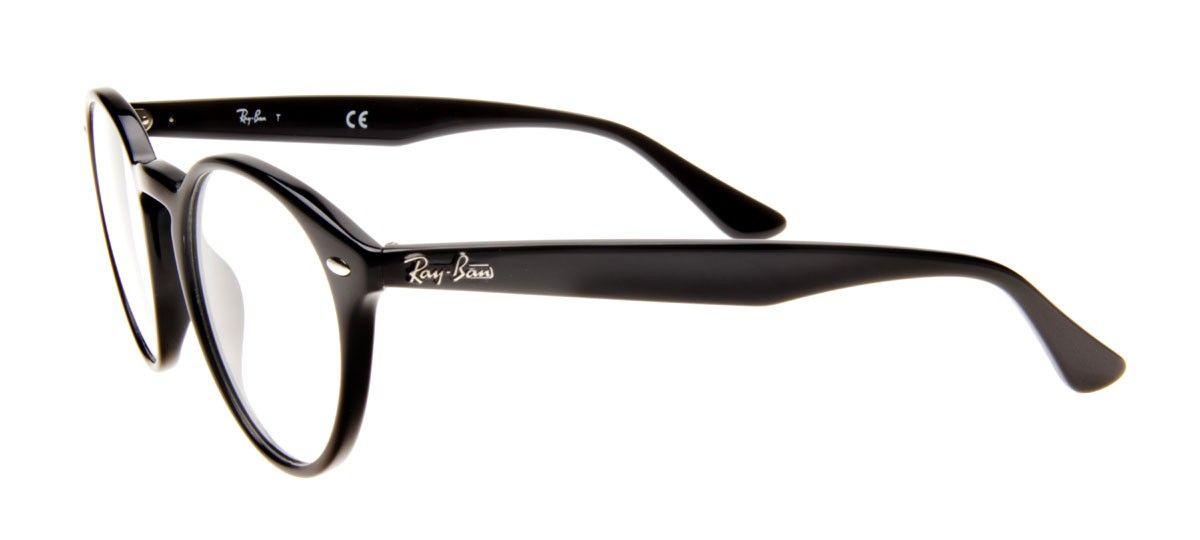 Ray Ban Rb2180 V Redondo Armacao Preta Ray Ban Oculos De Grau