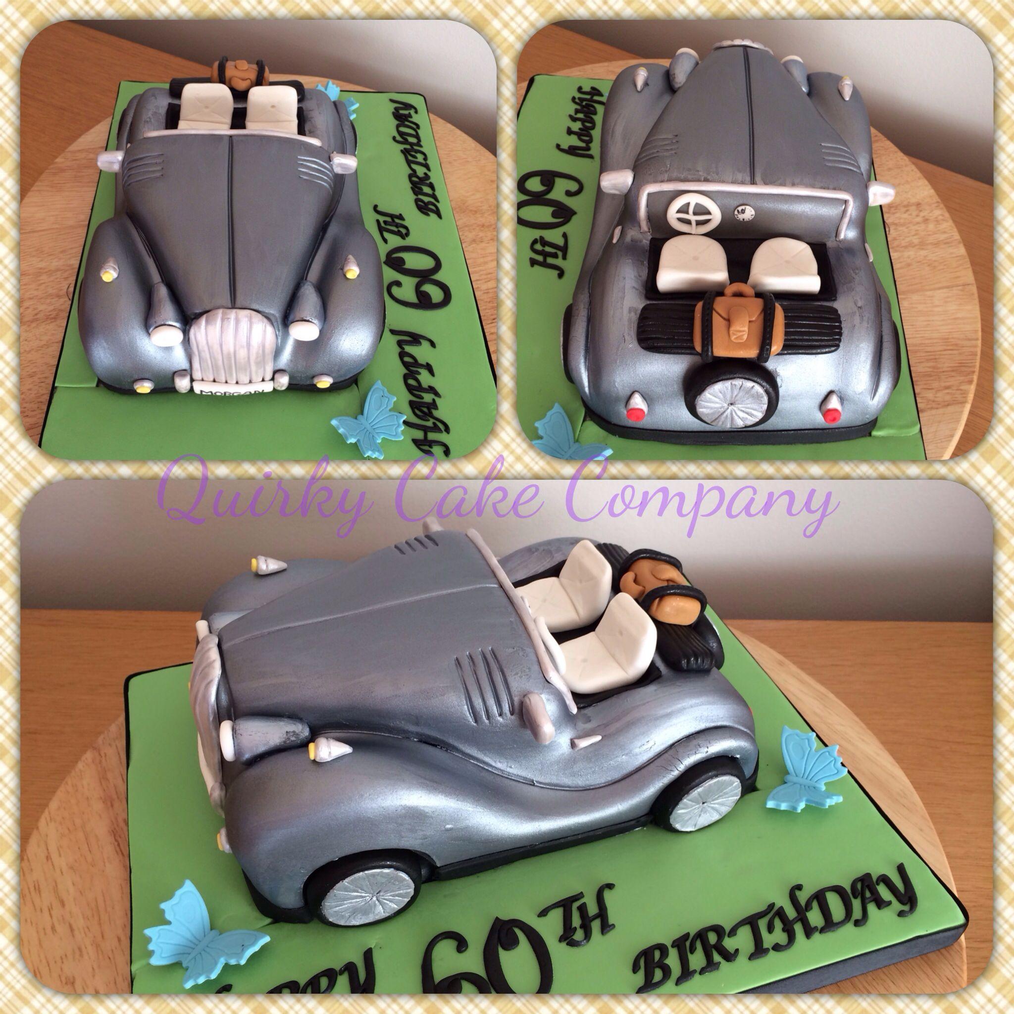 Morgan Car Cake Quirky Cake Company Pinterest Morgan cars