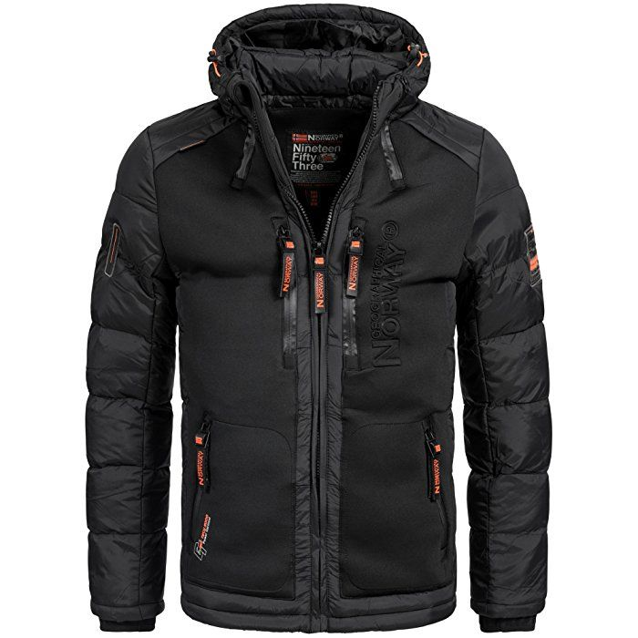 Winterjacke schwarz herren amazon