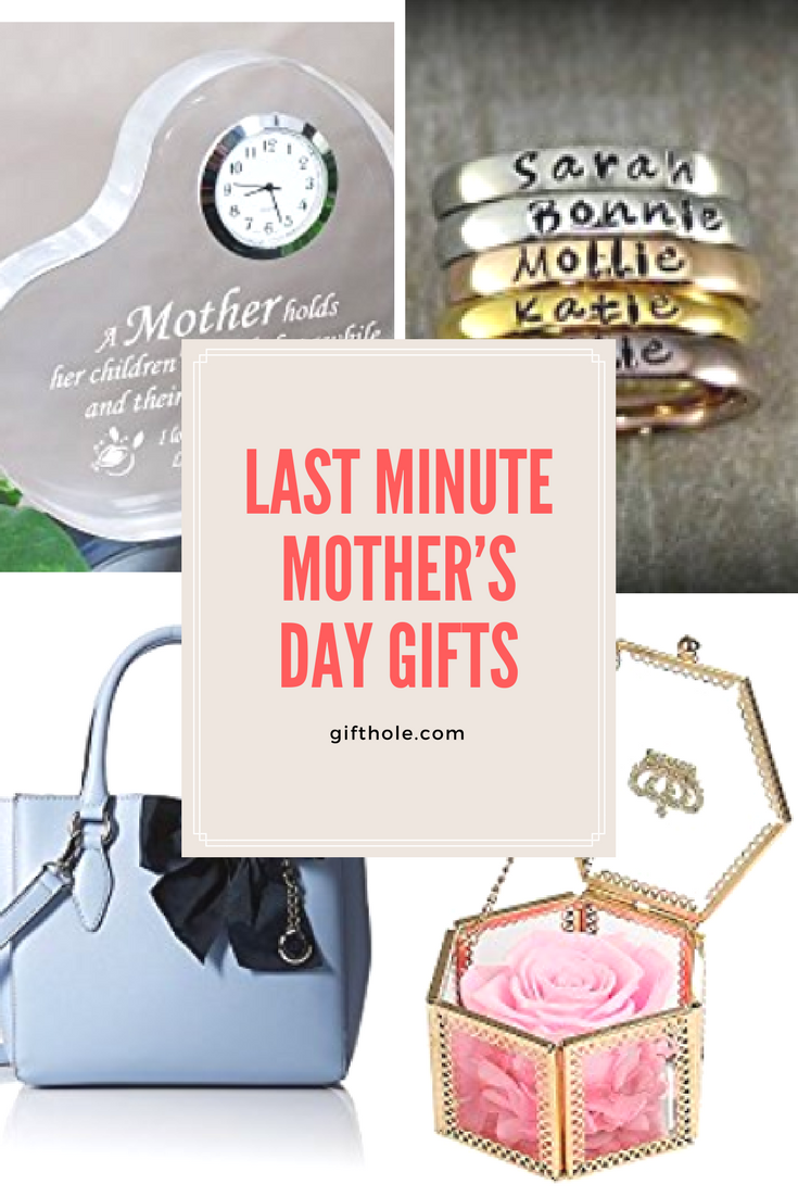 last minute mother's day gifts 2018 #giftidea #giftguide #mothersday