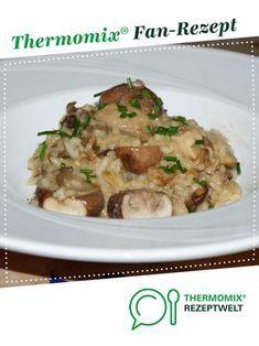Photo of Simple mushroom risotto (vergan)