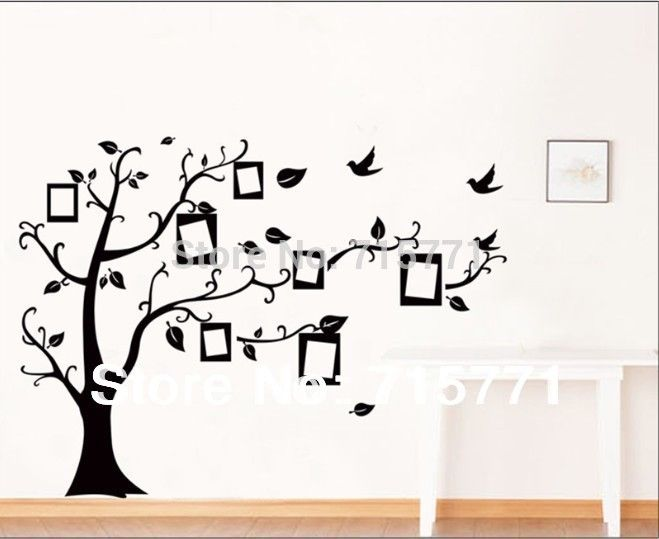 g nstige stammbaum wand decalremove wand kleben foto baum wandsticker speicher baum bilderrahmen. Black Bedroom Furniture Sets. Home Design Ideas