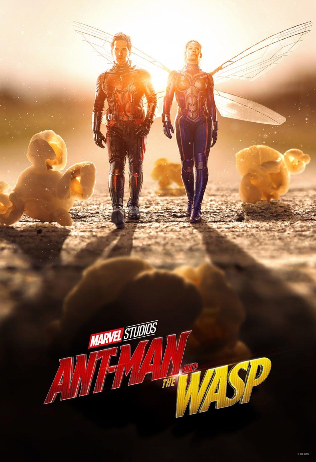 Постер фильма Человек-муравей и Оса (с изображениями ...