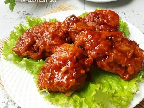 Resep Ayam Goreng Saus Bbq Oleh Sukmawati Rs Resep Resep Ayam Saus Bbq Ayam Goreng