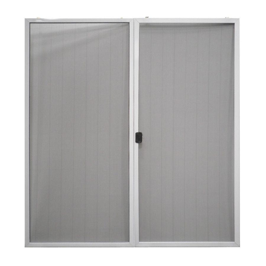 Reliabilt Screen Door 72 In X 80 In White Aluminum Frame Sliding Screen Door Lowes Com Sliding Screen Doors French Doors With Screens Screen Door