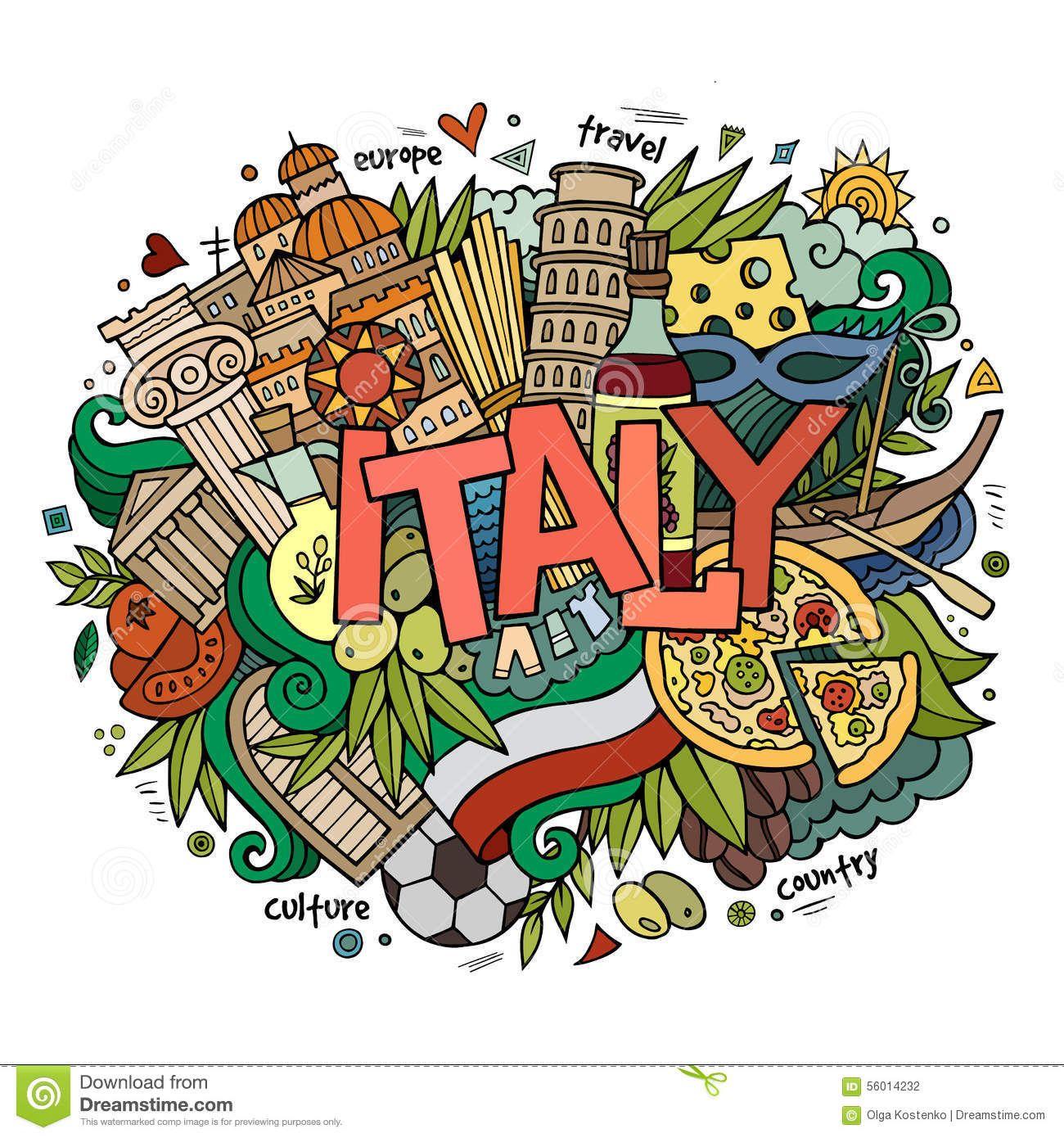 Рисунок италия надпись всего характеристики