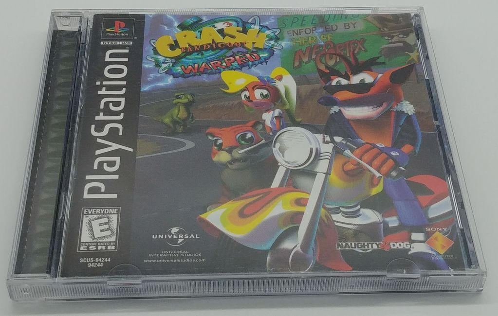 Crash Bandicoot Warped Complete Sony PlayStation 1 | Media