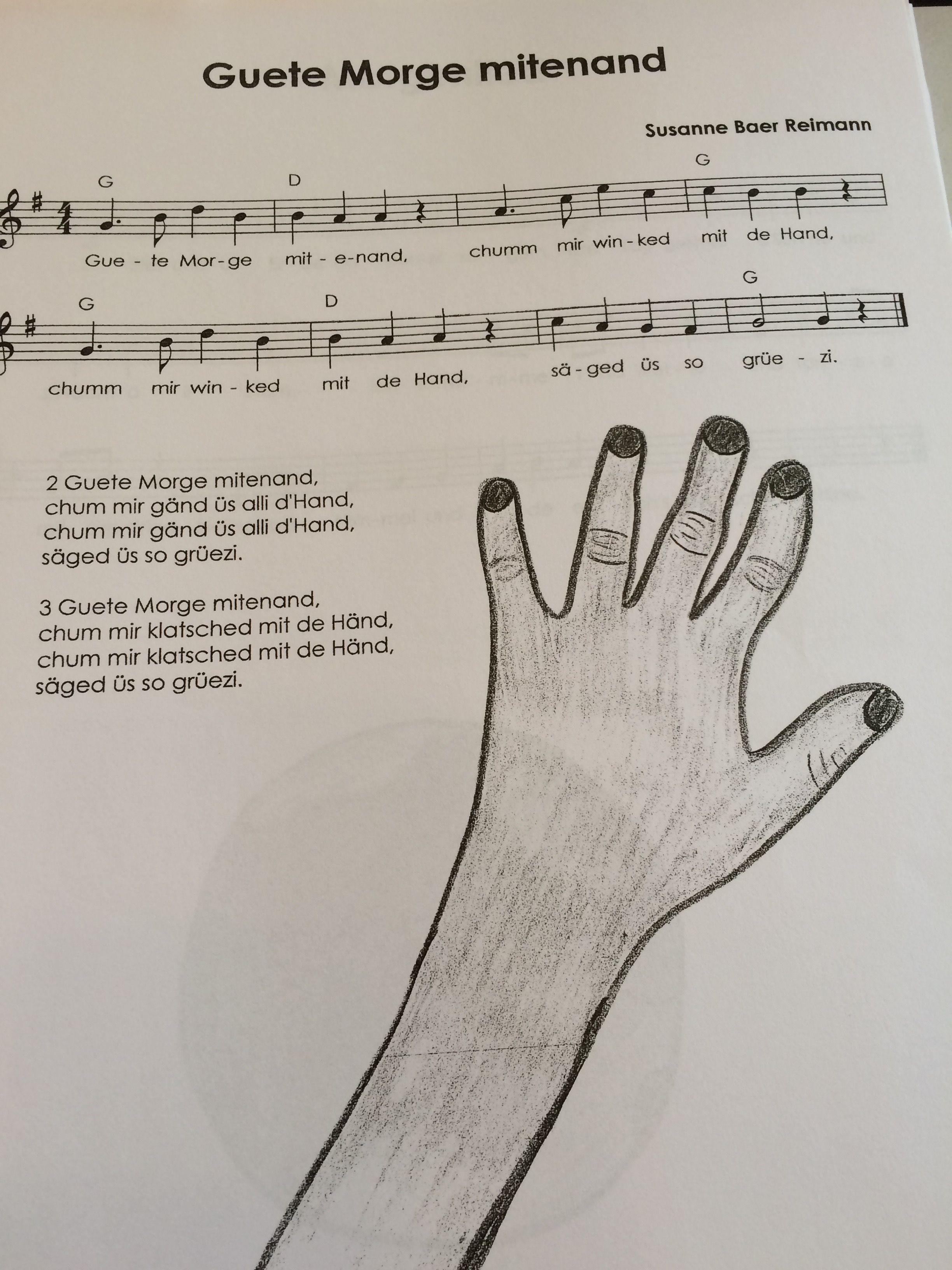 Guete Morge Mitenand Kinder Lied Kindergarten Lieder Und