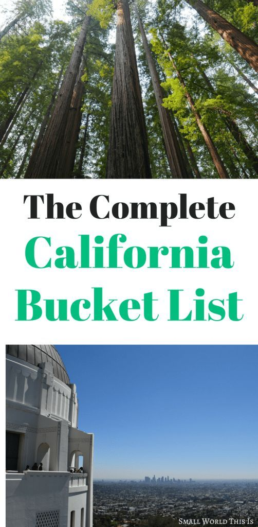 Planning a trip to California soon, but don't know where to start? Here's a complete California bucket list with 30 highlights to see around the state   california travel   california things to do