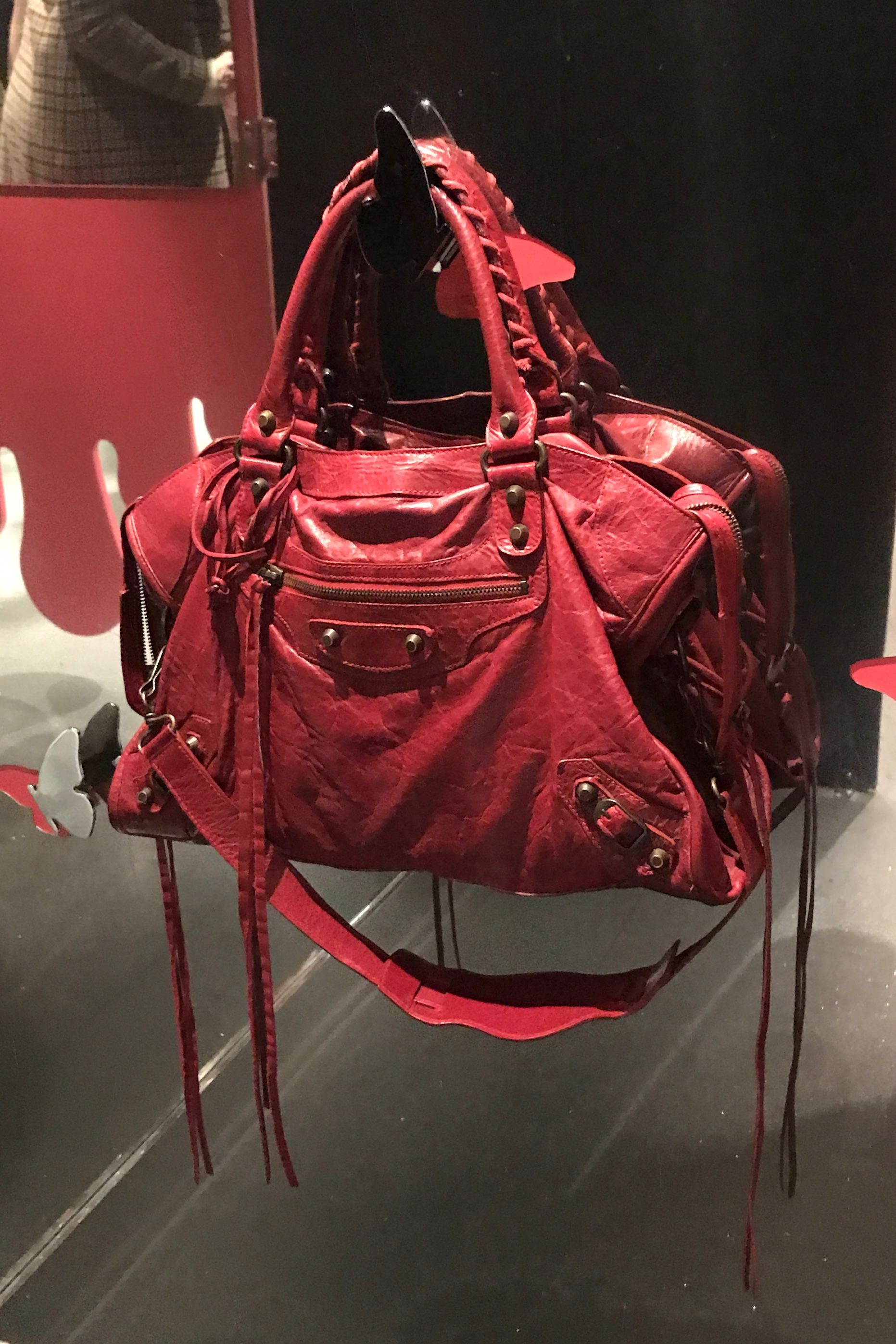 Tomato red Balenciaga City bag. Balenciaga classic City a6e870b7e630a